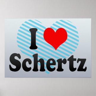 I Love Schertz, United States Poster