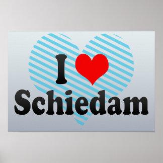 I Love Schiedam, Netherlands Poster