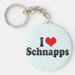 I Love Schnapps Key Chains