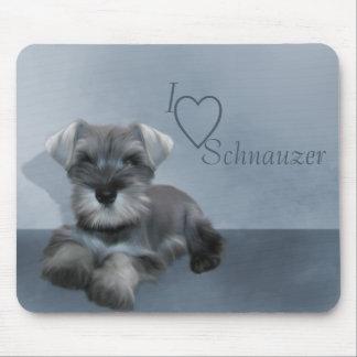 I love Schnauzer Mousepad