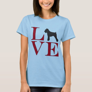 I Love Schnauzers - Light Colored Tee