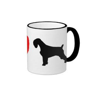 I Love Schnauzers Mug