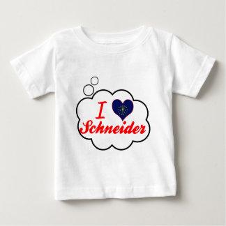 I Love Schneider, Indiana T-shirts