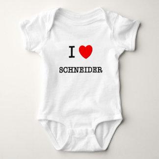 I Love Schneider T Shirts