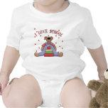 I Love School Bear Baby Shirt