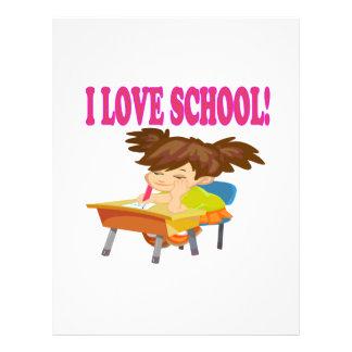 I Love School Flyer
