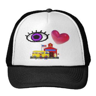 I Love School Hat