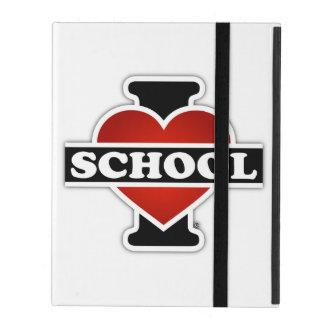 I Love School iPad Case