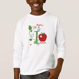I Love School Kid's T-Shirt