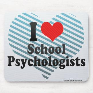 I Love School Psychologists Mouse Pad