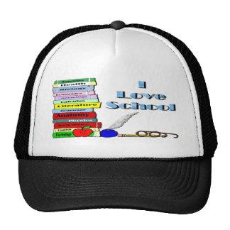 I Love School Trucker Hat