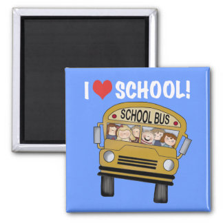 I Love School Tshirts and Gifts Refrigerator Magnet