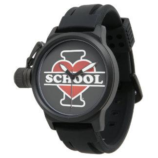 I Love School Wristwatch