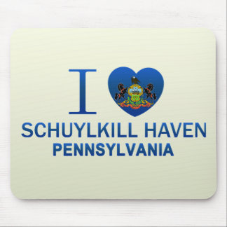 I Love Schuylkill Haven, PA Mouse Pads