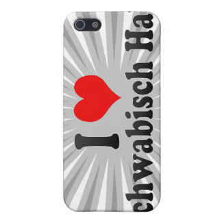 I Love Schwabisch Hall, Germany iPhone 5 Covers