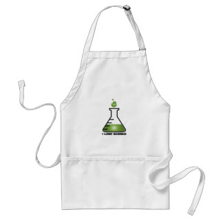 I Love Science Aprons