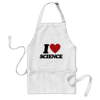 I love science adult apron