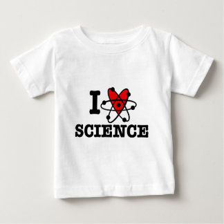 I Love Science Baby T-Shirt