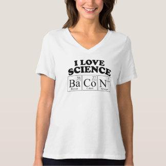 I Love Science Bacon T-Shirt