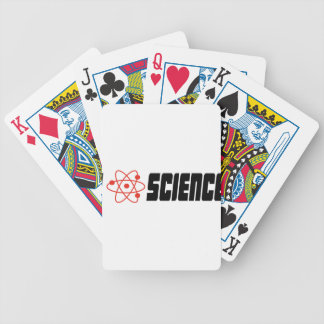 I love science baraja cartas de poker