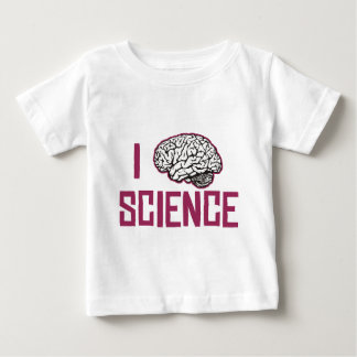 I Love Science (brain) Baby T-Shirt