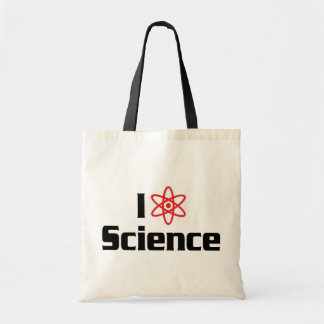 I Love Science Budget Tote Bag