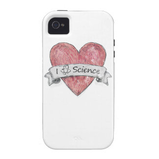 I Love Science Vibe iPhone 4 Covers