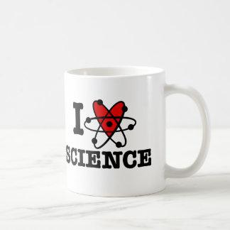 I Love Science Classic White Coffee Mug
