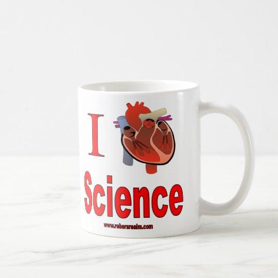 I love science coffee mug