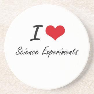 I Love Science Experiments Coaster