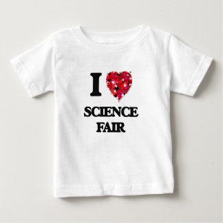 I love Science Fair Infant T-shirt
