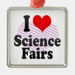 I love Science Fairs Christmas Ornaments