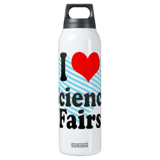 I love Science Fairs Insulated Water Bottle
