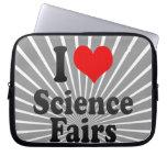 I love Science Fairs Laptop Sleeves
