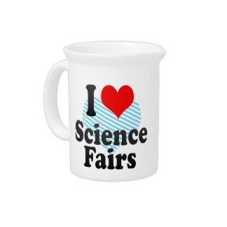 I love Science Fairs Beverage Pitcher