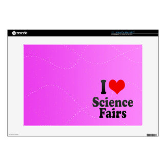 I love Science Fairs Laptop Skin