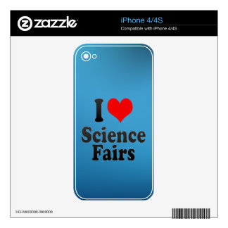 I love Science Fairs Skin For The iPhone 4