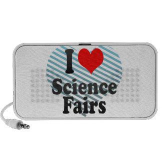 I love Science Fairs Mp3 Speaker