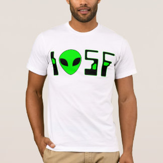 I Love Science Fiction (futuristic 2) T-Shirt