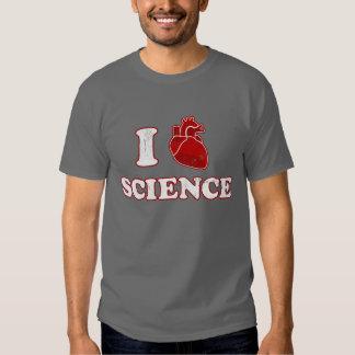 i love science / i heart science / anatomy t shirt