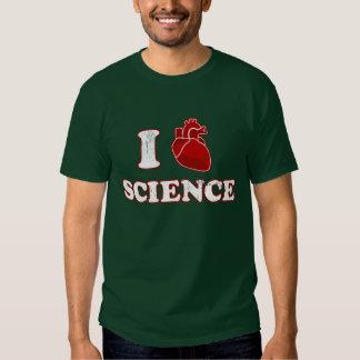 i love science / i heart science / anatomy tee shirt