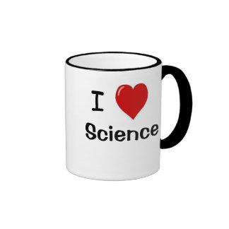 I Love Science I Heart Science - Scientist Mug