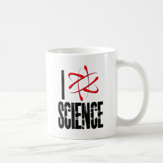 I Love Science (I ⚛ Science) Coffee Mug