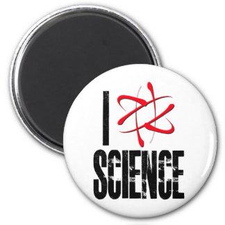 I Love Science (I ⚛ Science) Fridge Magnets