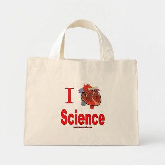 I Love Science Mini Tote Bag