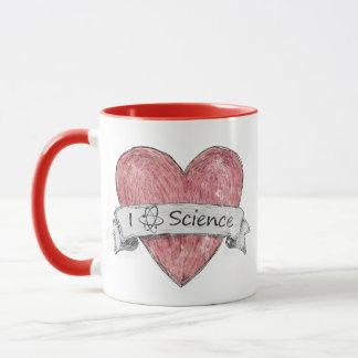 I Love Science Mug