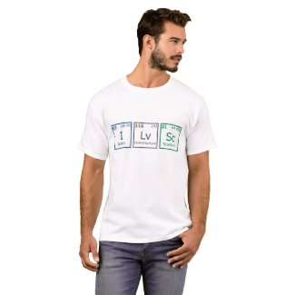 I Love Science T-Shirt Men