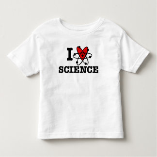 I Love Science Toddler T-shirt