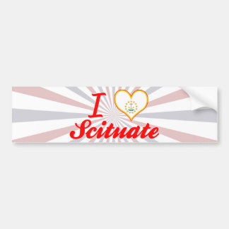 I Love Scituate, Rhode Island Bumper Stickers