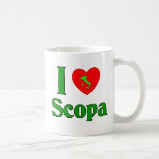 I Love Scopa Coffee Mug